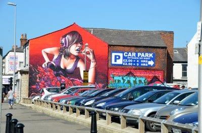 Street Art in Blackpool