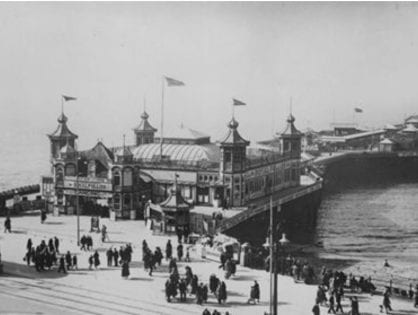 History of Blackpool Central Pier