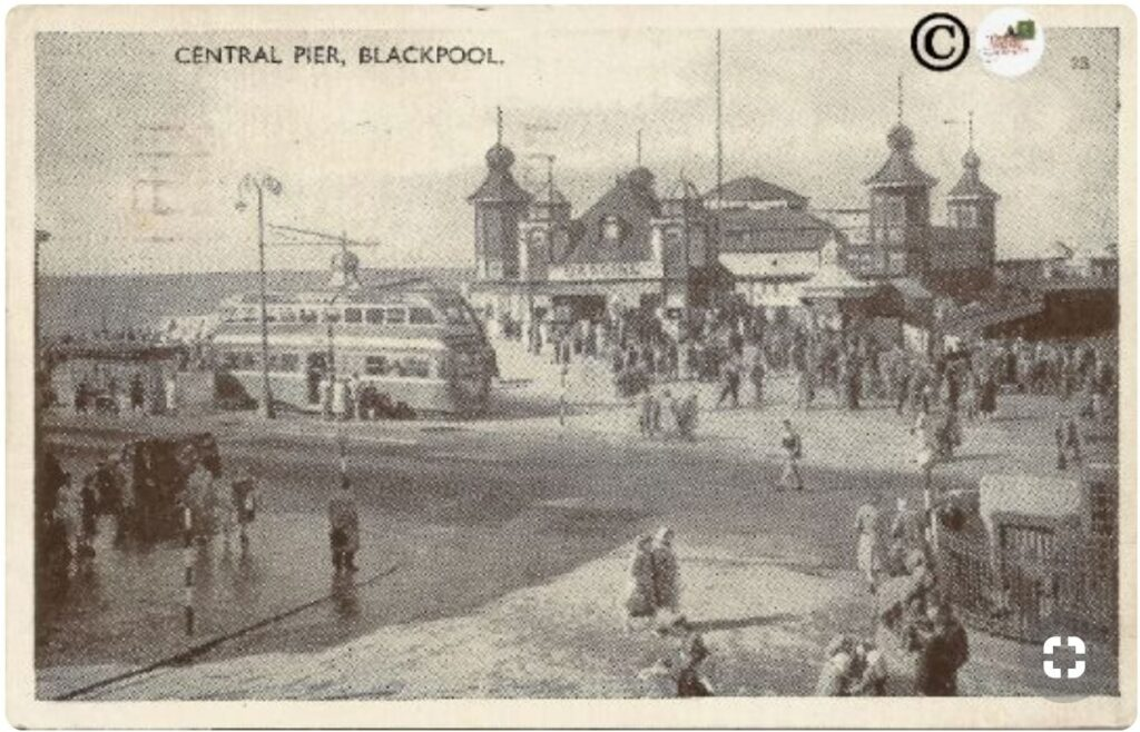 History of Blackpool Central Pier, approx 1951