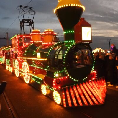 Illuminated Tram Parade