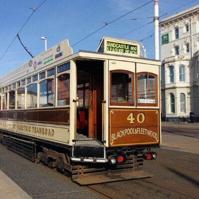 History of Heritage Tram Box Car 40