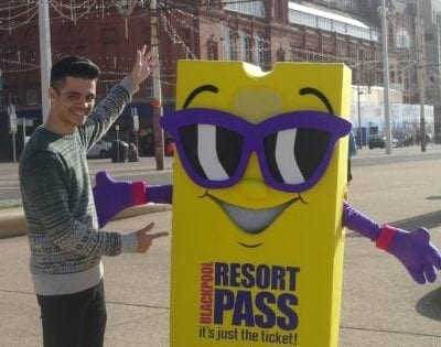 Christie and the Resort Pass Mascot