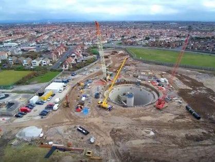Anchorsholme - United Utilities Wastewater Works