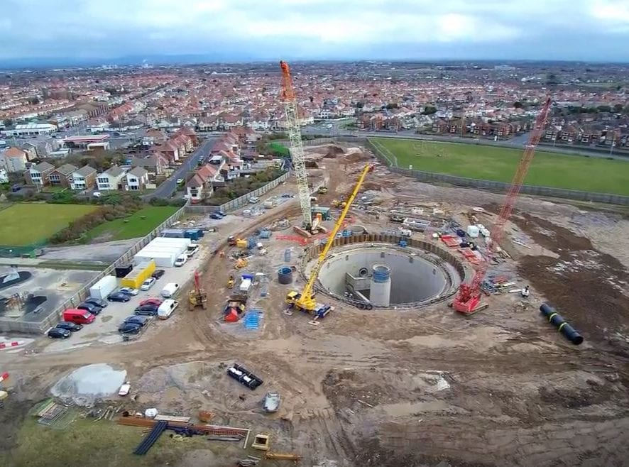 Anchorsholme - United Utilities Wastewater Works
