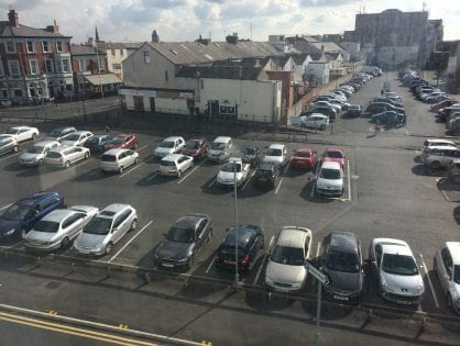 Christmas Parking in Blackpool