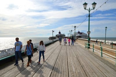 Blackpool North Pier today