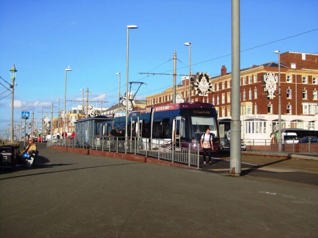 Blackpool Trams at North Shore