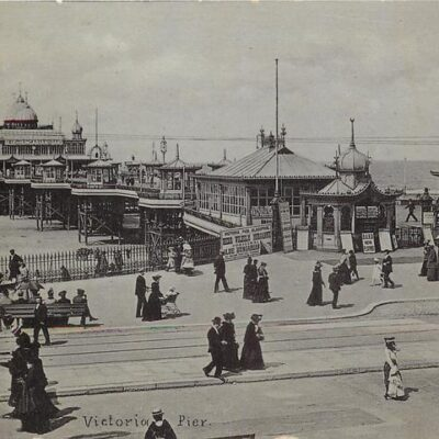 History of Blackpool South Pier