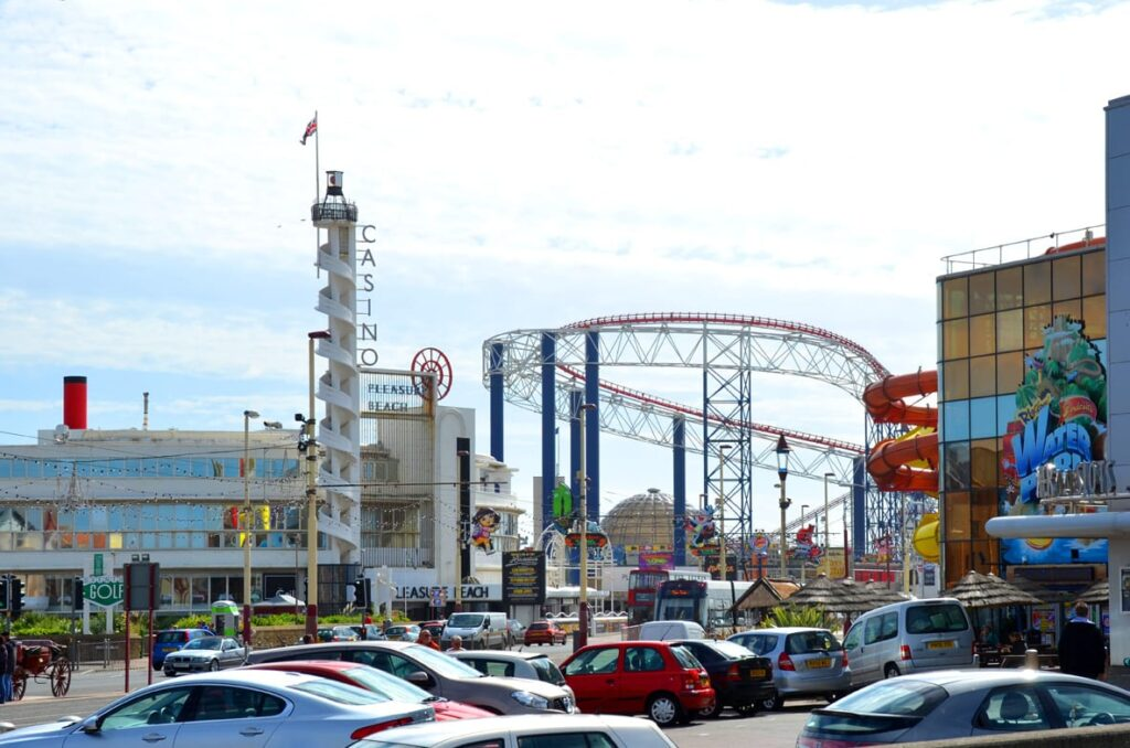 Blackpool Pleasure Beach and Sandcastle Waterpark