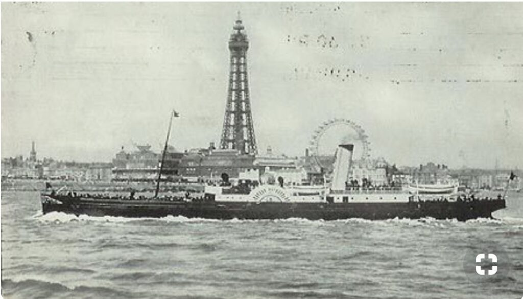 Blackpool Excursion Steamer, Queen of the North