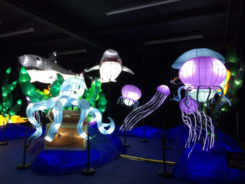 Under the sea at Illuminasia