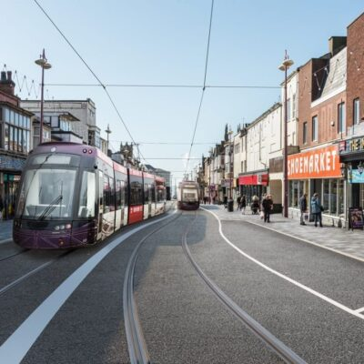 Blackpool Tramway Extension