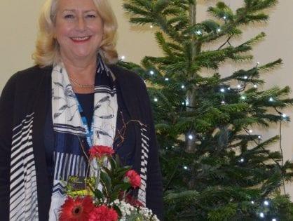 Tree of Lights at Blackpool Victoria Hospital