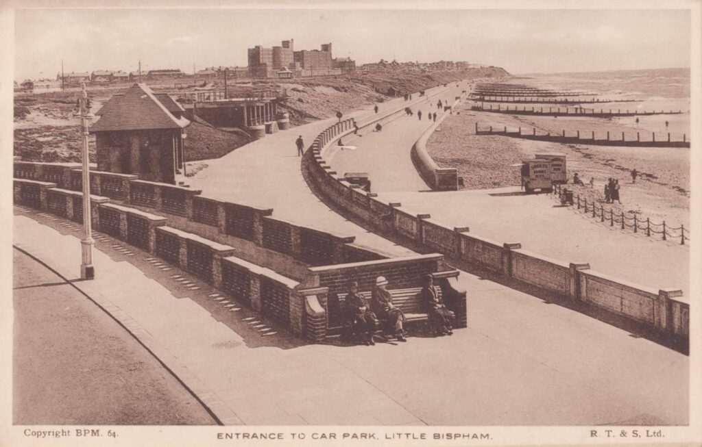 Underground car park at Anchorsholme