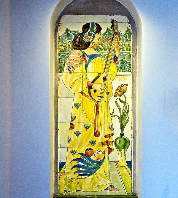 Neatby Panel at Blackpool Winter Gardens, photo: Dawn Mander