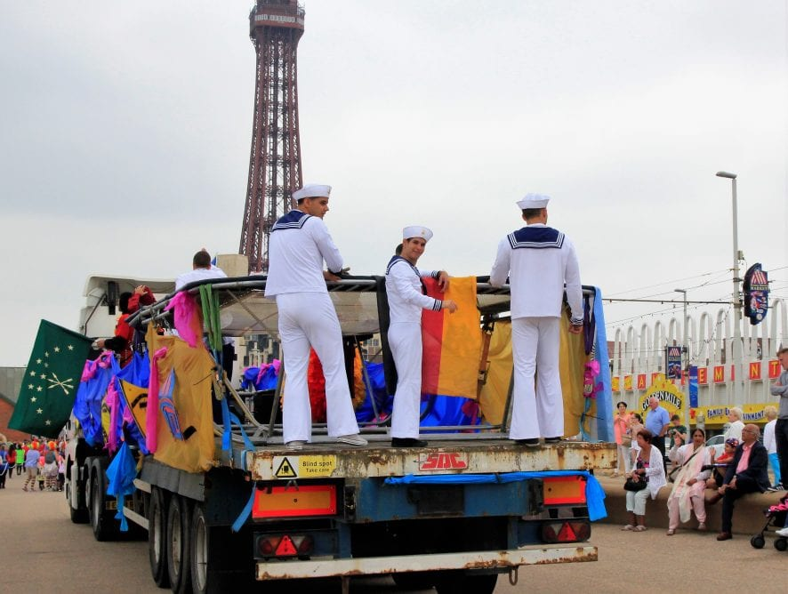 Blackpool Tower Circus Parade