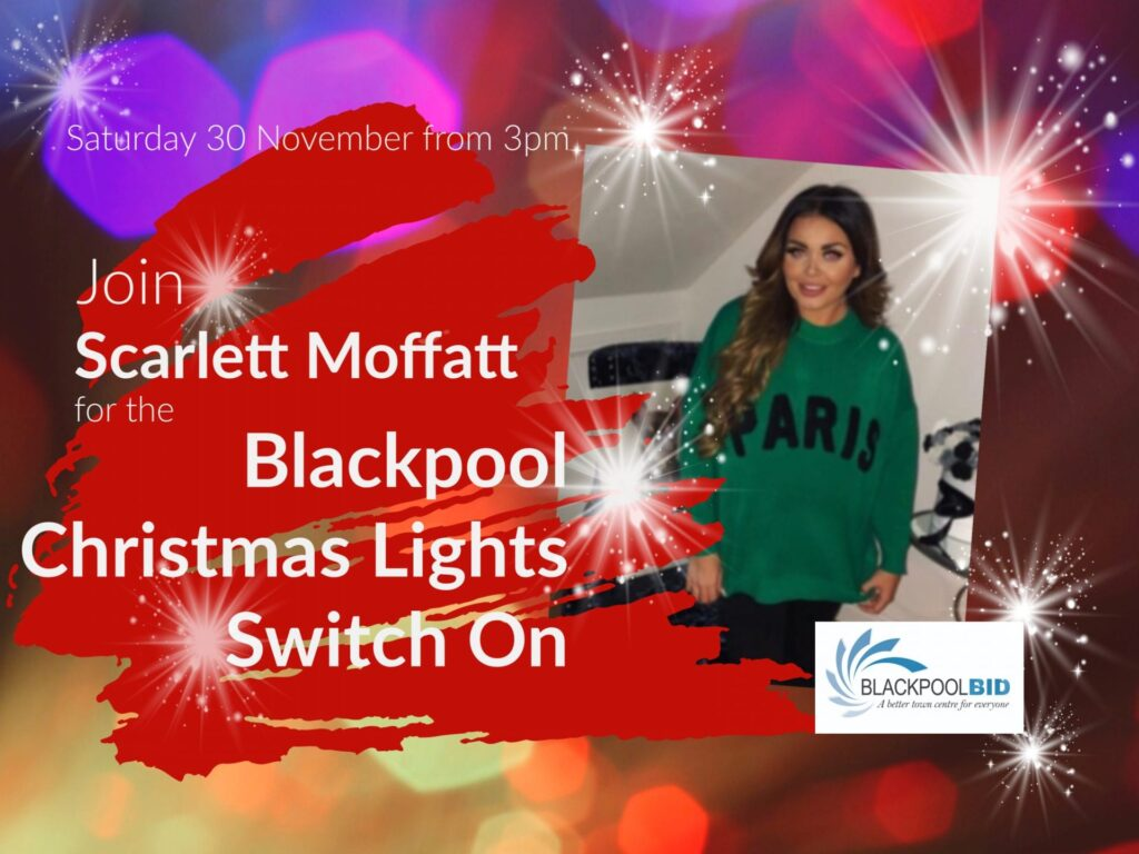Christmas Switch.Blackpool Christmas Lights Switch On Live Blackpool