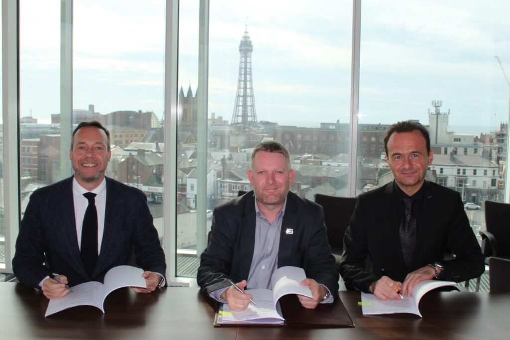 Signing Heads of Terms for the Blackpool Central Development
