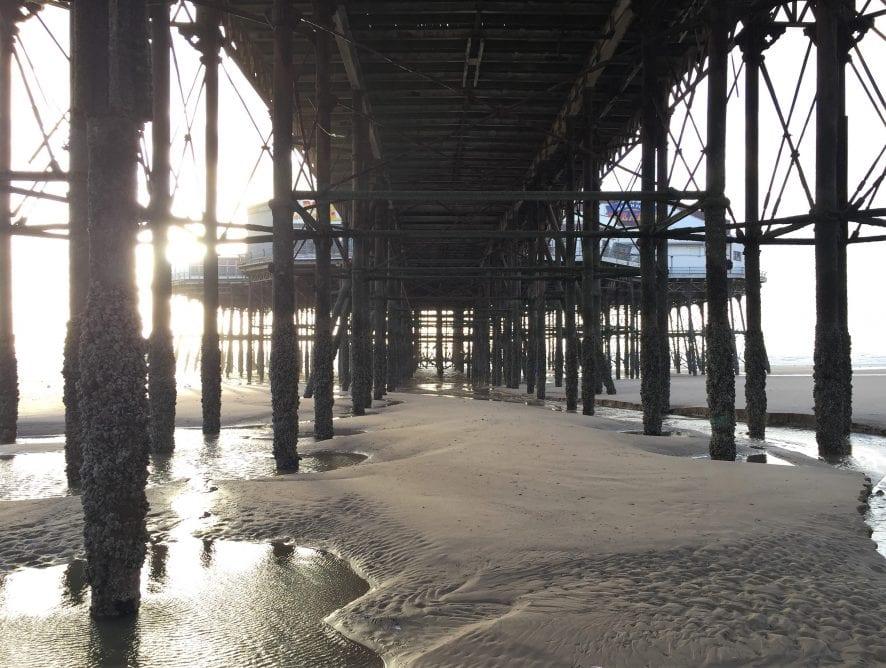 Still Under Blackpool Pier, by Cameron McDade
