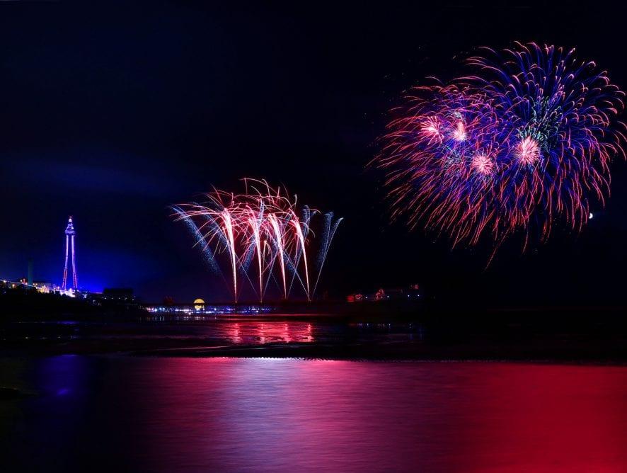 Fireworks by Tom McAtee