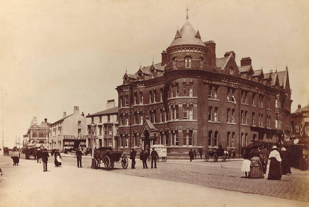 Palatine Hotel, built in 1879