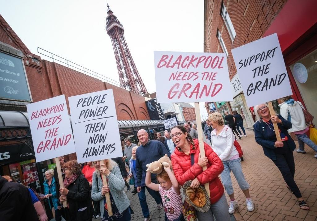 125 Grand People Power March. © Grand Theatre | Photographer Martin Bostock