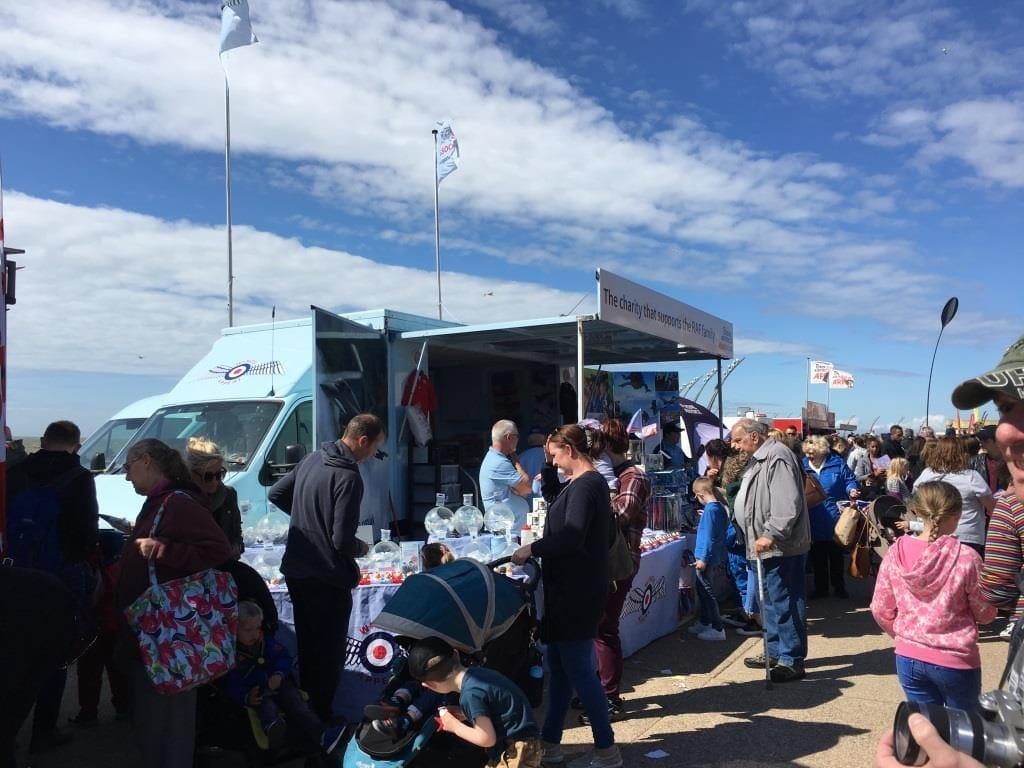 Blackpool Airshow Village