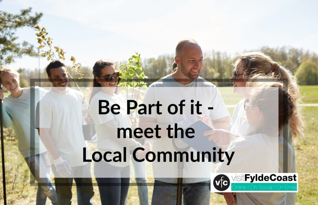Volunteer and be part of the local community
