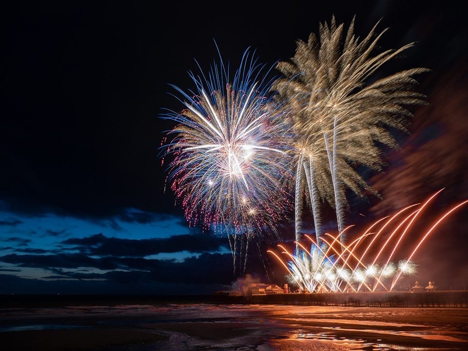 Blackpool World Fireworks 2019 week 1. Photo: Lee O'Dwyer