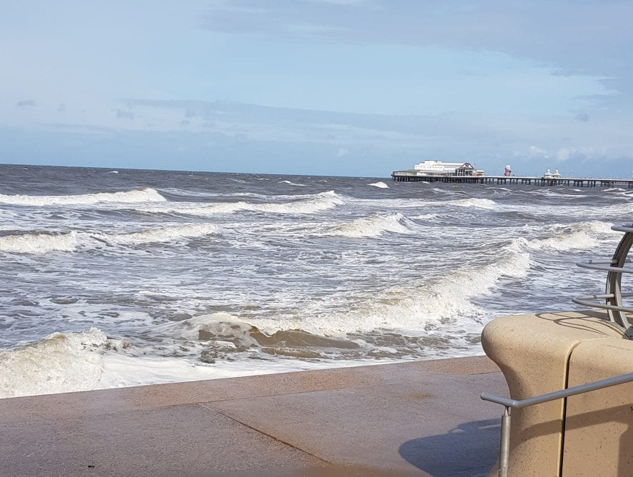 Sea at North Pier from Angela Henderson