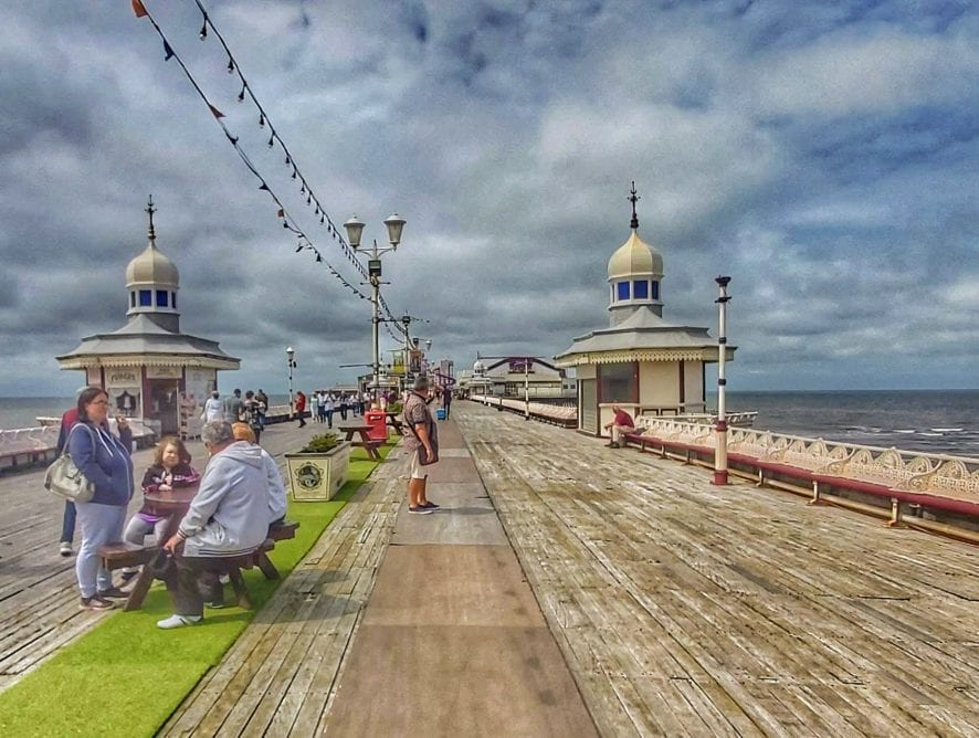 On the Pier by Ged Docherty