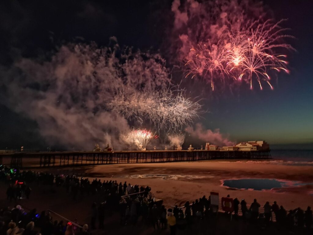 Week 2 Fireworks Display - photo from Mark Dequincey