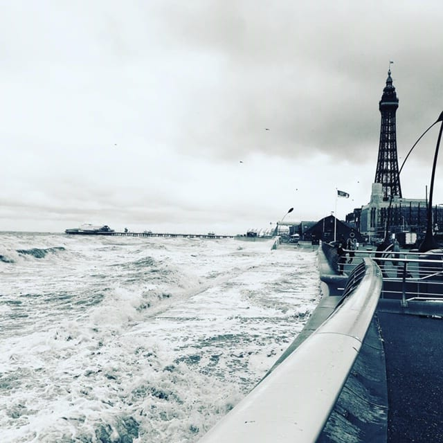 Blackpool seafront in August by Allison Mcandrew