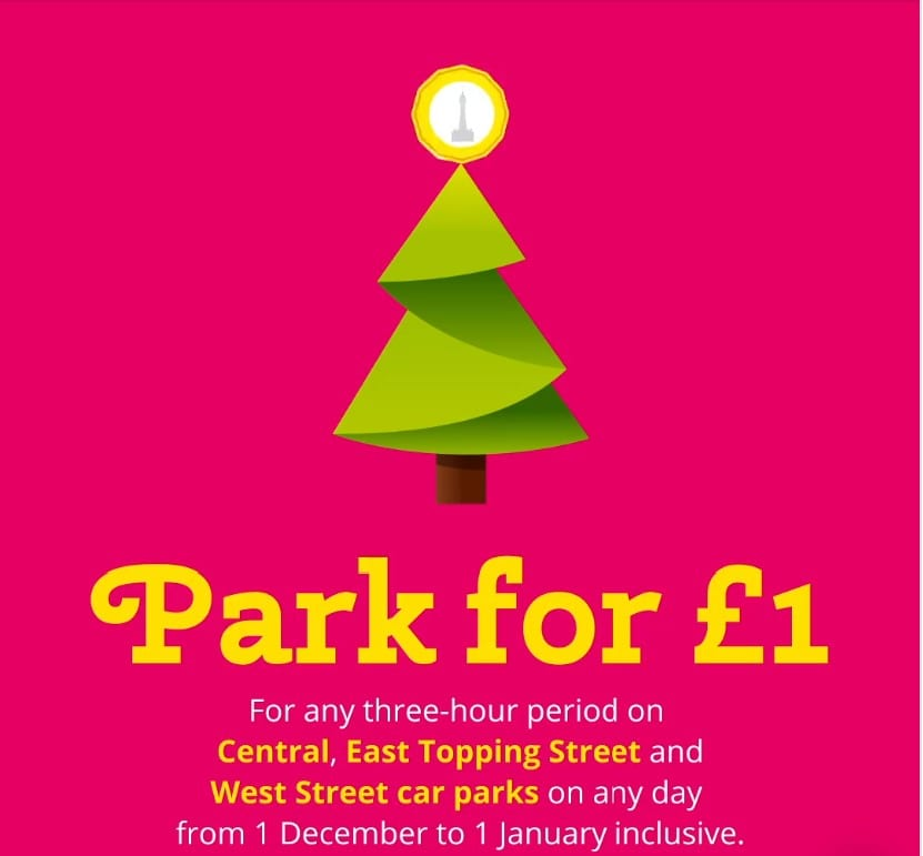 Park for £1 in Blackpool