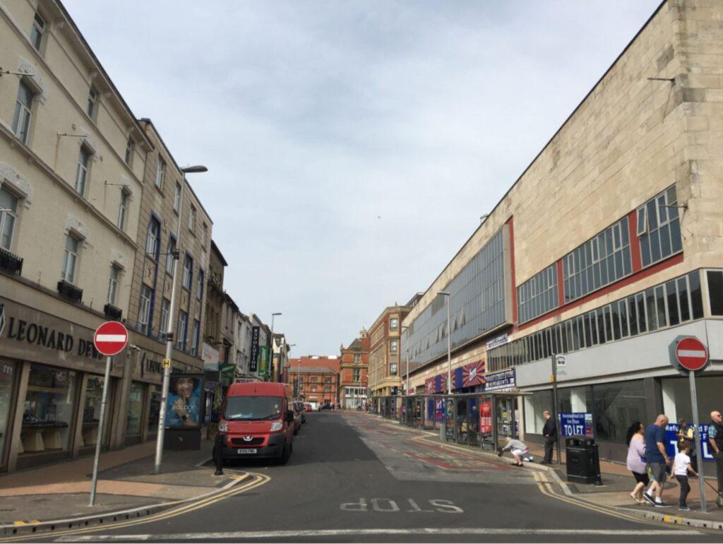 Blackpool Bus Hub at Market Street
