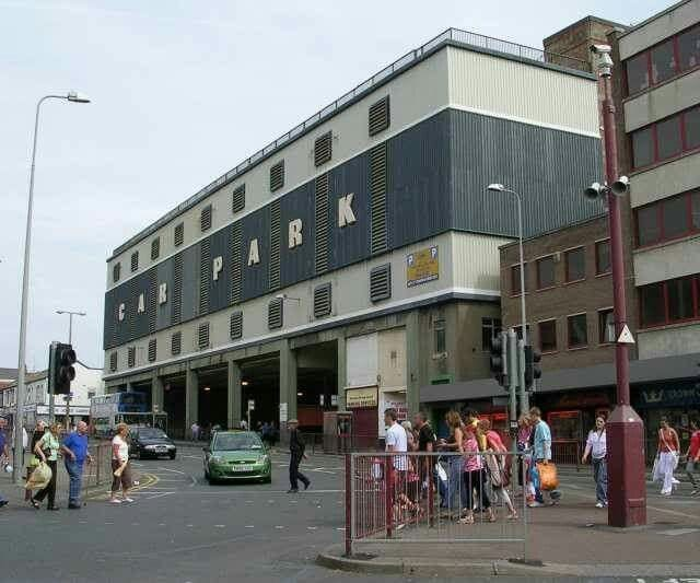 Former Talbot Road bus station in Blackpool