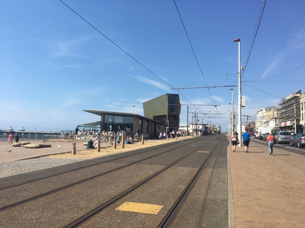 Promenade tram stop at Festival House