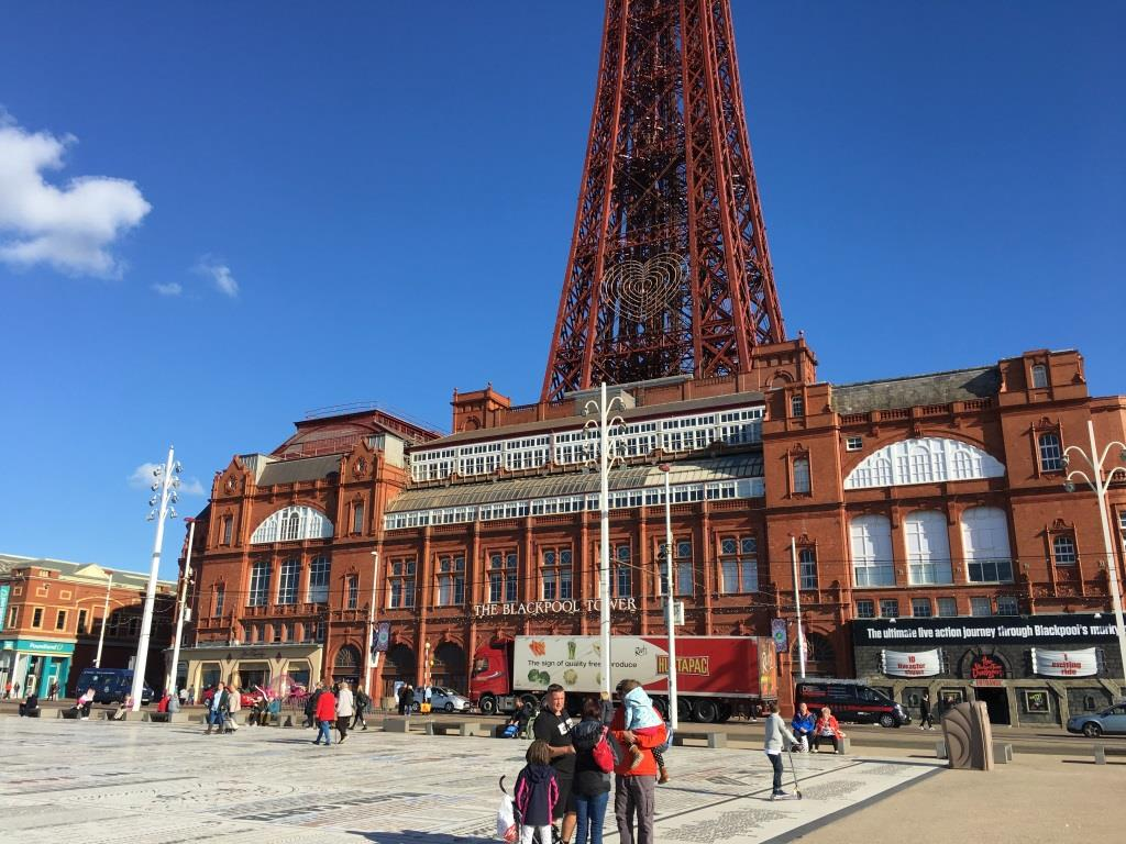 Comedy Carpet at Blackpool Tower Festival Headland